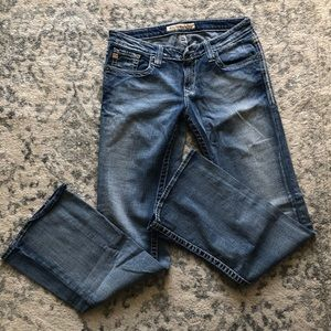 Big star sweet ultra low rise jeans